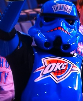 Thunder up! OKC OKC OKC