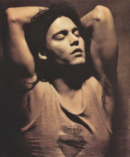 Johnny Depp by Albert Watson