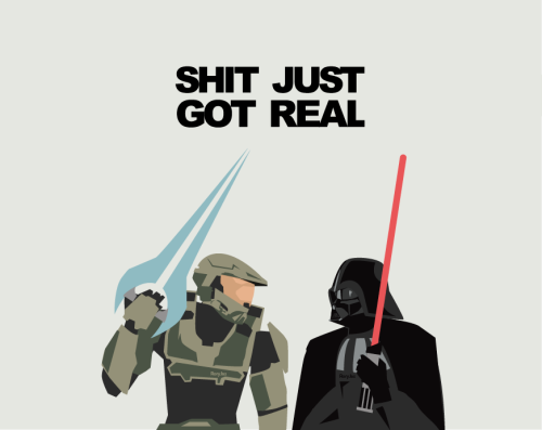 tiefighters:  Halo vs Star Wars Created by Rory Jasper McGinnity  Oh lulz!