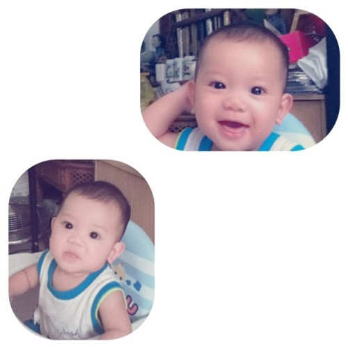 #baby #instamakassar #instagood #instapop #instaphoto #instagram azka in action (Taken with Instagram at homey)