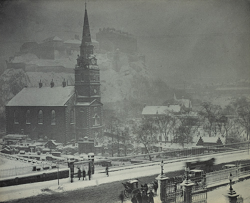 St Cuthbert's Church, Lothian Road, 1882 by Frank Moffat