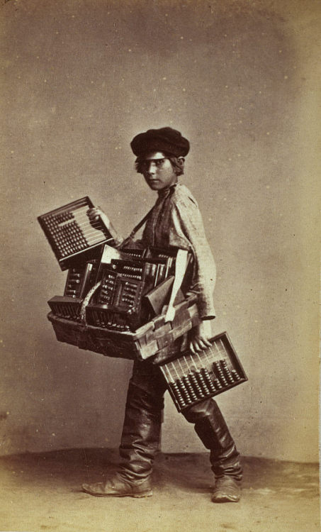 firsttimeuser:  An Abacus Seller, St Petersburg, 1860s by William Carrick National Galleries of Scotland