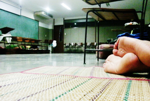An overnight stay in CAFA building, USC-TC, for The Carolinian Summit 2012. Room for the boys AF210. will be posting more pictures and details soon.