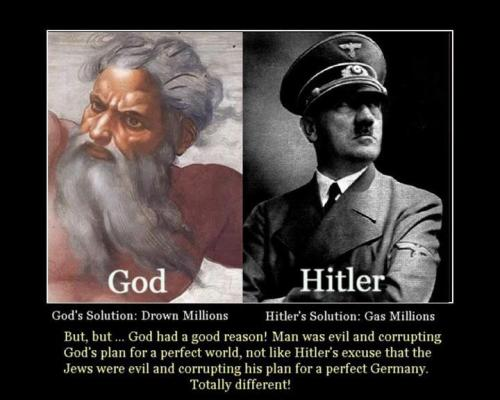 trolling-face:  God Vs. Hitler