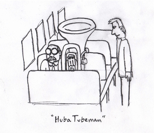 fuckyeahprofessorblastoff:  More Huba Tubeman art by Jordan. From the ProfessorBlastoff.com website.