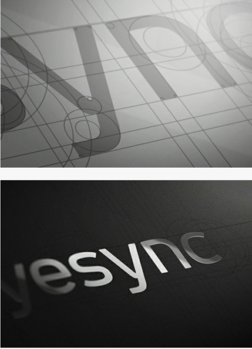 by9:  Eyesync logo design.