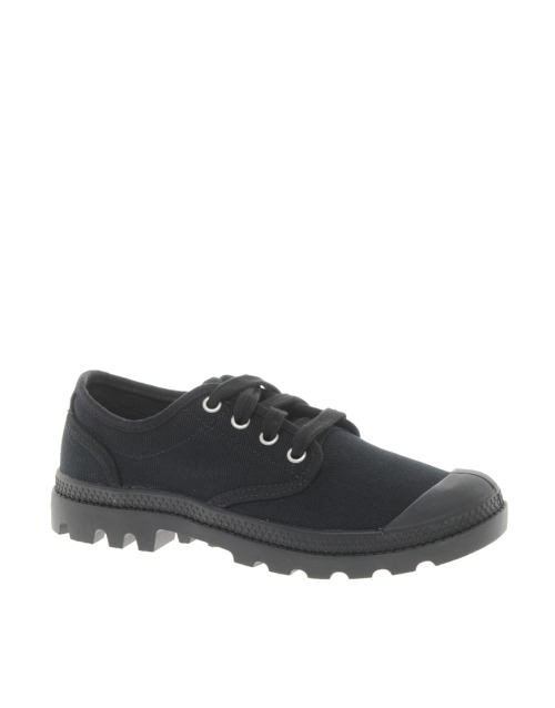 Palladium Pampa Oxford Black Lace Up ShoesMore photos & another fashion brands: bit.ly/JgPT4u
