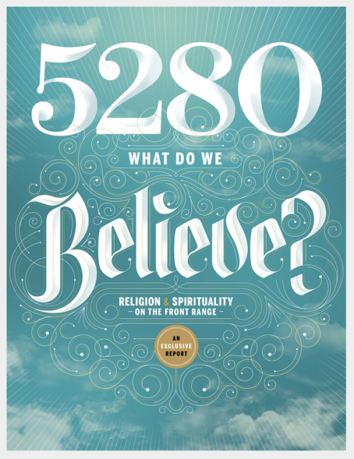 5280 - The Denver Magazine Cover - April 2012