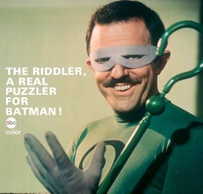 cryptofwrestling:  Original ABC-TV promo for an episode of Batman (1967)