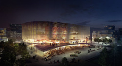 Copenhagen Arena by 3XN and team