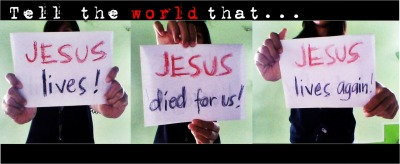unstoppablesoul-ish:  dont be ashamed to tell the world about Jesus Christ!