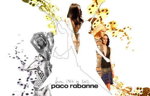 pacoby:  Paco by Le Modalogue. Paco Rabanne from 1966 to 2012