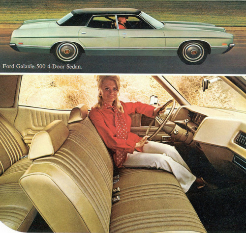 1971 Ford Galaxie 500 4 Door Sedan   by coconv on Flickr.1971 Ford Galaxie 500 4 Door Sedan