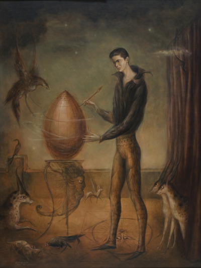 stickyeyelids:  Quería ser pájaro (1960) by Leonora Carrington