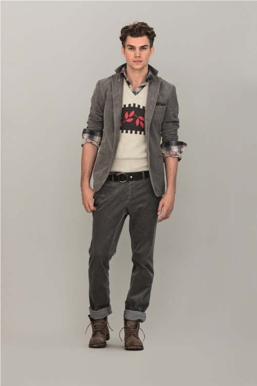 eyegasmgalore:  André Bentzer by Michael Bastian for Gant's Pre-Fall 2012