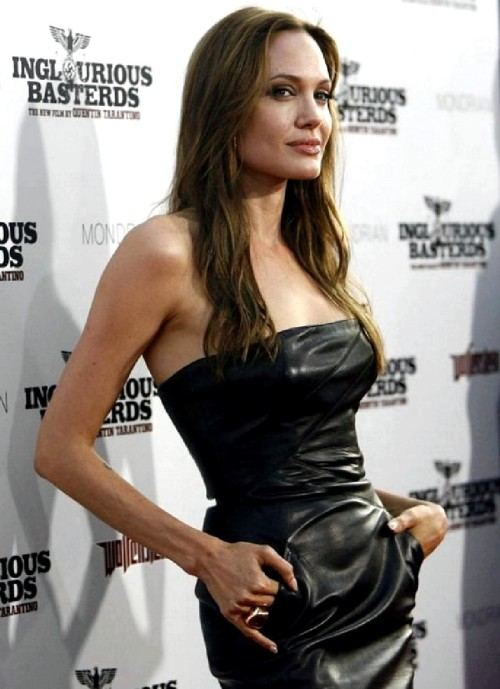 Angelina Jolie in tight leather dressfree nude picturesLink to photo & video: bit.ly/JgRwzd