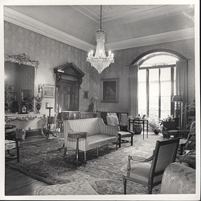 Drawing room at Preston Manor by Royal Pavilion & Brighton Museums on Flickr.