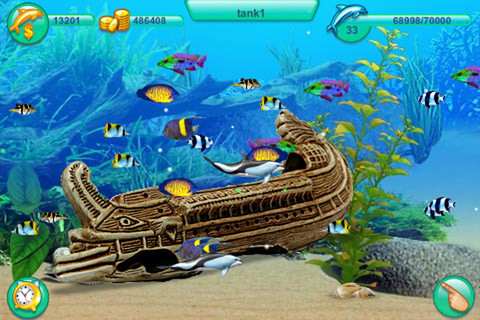 O MY G0D!! WE R PLAYING TO AN AMAZING IPHONE APP TAKING CARE OF DOLPHINS AND FISHES, DECORATING OUR AQUARIUM WITH PLANTS, LIGHTS AND GEARS WOW.. ADDICTED. http://itunes.apple.com/it/app/dolphin-play/id403039529?mt=8