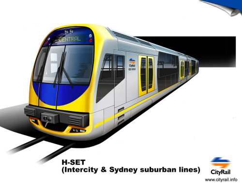 SYDNEY COMMUTER TRAINS H SETS (OSCAR)