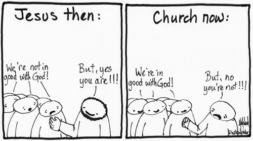 """in good with God"" (cartoon by nakedpastor)"
