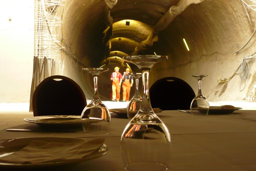 """Underground Dinner"" Paul Mutant, 2009.http://www.flickr.com/photos/paulmutant/4989938626/"