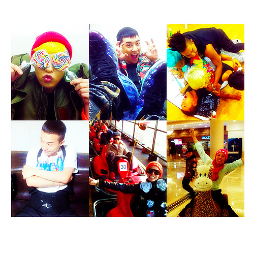 G-Dragon Me2day Updates