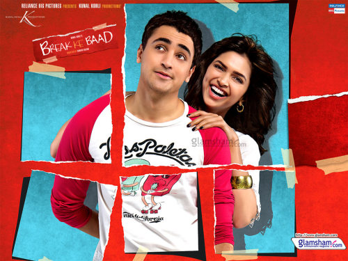 Break Ke Baad (Hindi: ब्रेक के बाद, English: After the Break) is a 2010 romantic coming-of-age dramedy directed by Danish Aslamand starring Deepika Padukone and Imran Khan in lead roles. Shahana Goswami and Yudhishtr Urs play siblings while Sharmila Tagore, Navin Nischol and Lillete Dubey have supporting roles. The major part of the film was shot in Mauritius. The film is produced by Kunal Kohli under the banner of Tips Music Films. The music for the film has been composed by Vishal-Shekhar with lyrics by Prasoon Joshi. This is the first time that Vishal-Shekhar and Prasoon have worked together on a movie soundtrack. The music was released on 15 October 2010.[2]