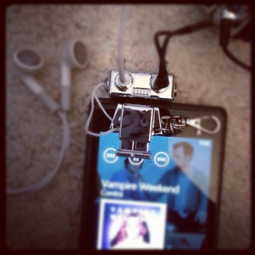 My headphone splitter is the cutest thing (Taken with instagram)
