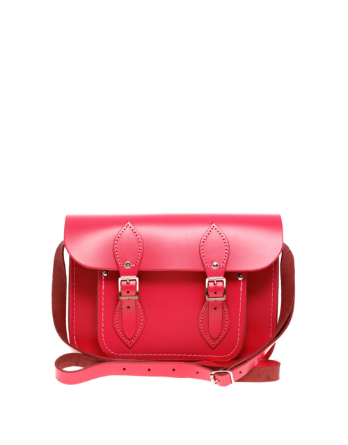 "Cambridge Satchel Company Matte Leather 11"" Satchel Exclusive To ASOS SatchelMore photos & another fashion brands: bit.ly/JGVEUP"
