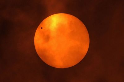 Venus in front of the Sun