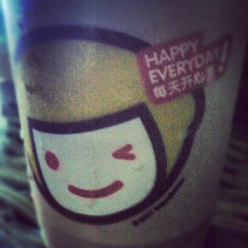 Weeee Happy Lemon! ^_^ (Taken with instagram)