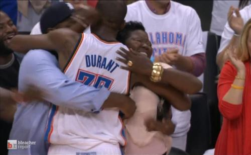 Congratulations to Kevin Durant and the OKC Thunder for making the 2012 NBA finals  Who's Next