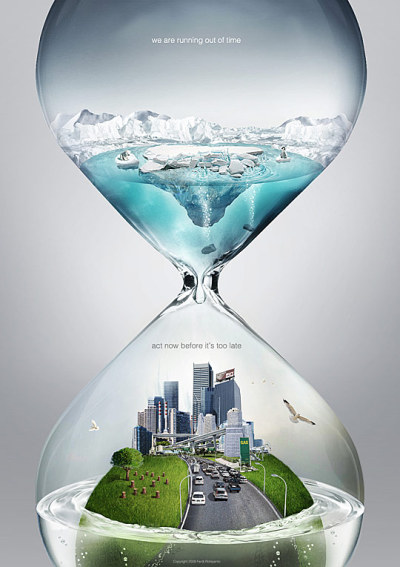 Act now before it's too late: Global Warming PSA Time by Ferdi Rizkiyanto