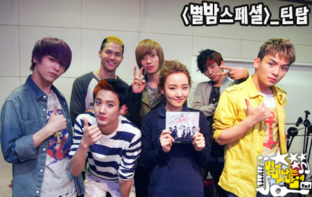 June 5, 2012 - Teen Top at MBC Younha's Starry Night Radio