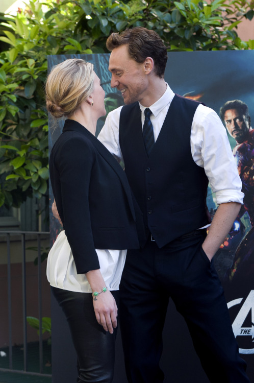 You sir…take your hand off of her…As for you Scarlett…don't make me dislike you.
