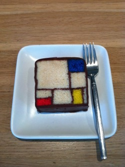 A taste of Mondrian at SFMOMA:  Photo by Adeo Alday