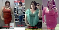 Photoset of my weight loss progress from December to the end of last month. Dec-220 Feb- 210 March- 205 May-195! 45lbs to go! :D