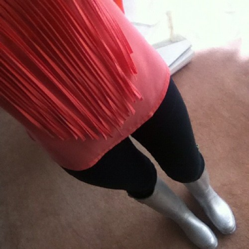 It's raining men. #rain #boots #hunter #rainboots #silver #neon #blouse #shirt #bangs #pink #orange #black #jeans #fashion #model #pretty #outfit #cool #moda #picoftheday #photooftheday #iphone #instagram #instamatic #instanity  (Taken with instagram)