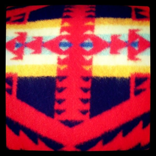 Pendleton blanket spotted at Old Hollywood! #Greenpoint #Brooklyn #NY #store #shopping #Pendleton #OldHollywood #TheShapes #TheColors #blanket #throw #home #whatinspiresme  (Taken with instagram)