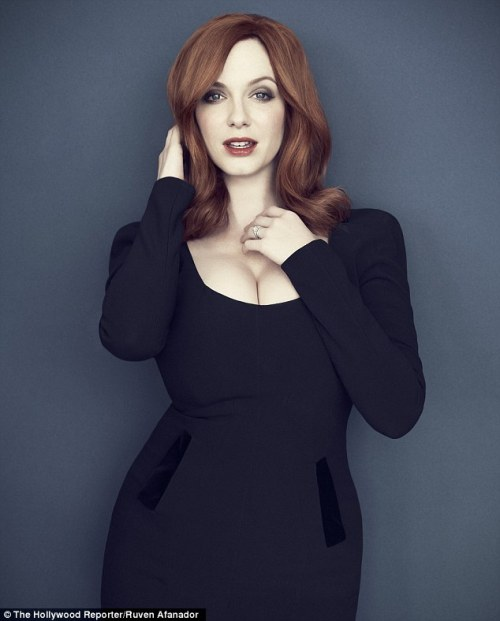 A very nice photo by Joe Pugliese of Mad Men's Christina Hendricks