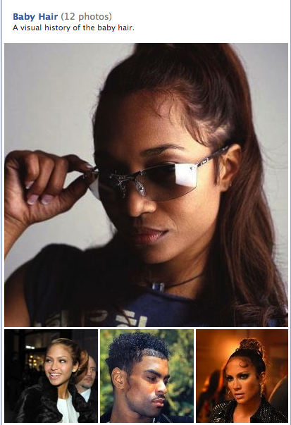 julianahuxtable:  icecreamritual: A visual history of the baby hair UPDATE JULY 2,2012 THIS WILL BE TURNING INTO A ZINE, STAY POSTED