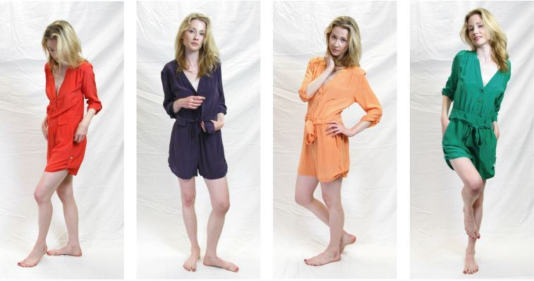 Have you checked out the M by Marcus silk rompers yet? They are too cute! Such an easy, playful style for your weekend fun. Available at Searle.