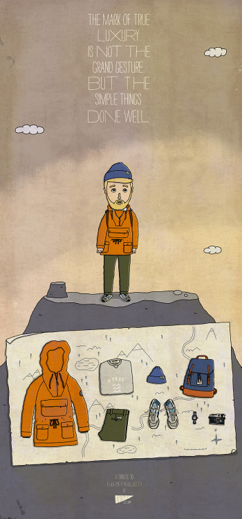 Once I saw these - illustrations for Norse Projects SS 2012. And I decided to show my vision for Norse Projects style. So here it is.