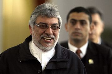 "Fernando Lugo, the president of Paraguay, has a love child. Wait … make that another love child. A 10-year-old boy named Angel Zarate is the son of Narcisa de la Cruz de Zarate, a nurse, who claims that Lugo was the daddy, French news wire AFP reports. The president's lawyer says Lugo accepts responsibility. It's no biggie though because their questionable affair did not happen while Lugo was president, but sometime before. Around the time when he was a Roman Catholic bishop. De la Cruz is the fourth woman in Paraguay to claim the president is the father of her child. In 2009, Lugo admitted to fathering a boy named Guillermo Armindo after the child's mother accused Lugo of ""irresponsible paternity,"" according to the Associated Press. Continue reading…"