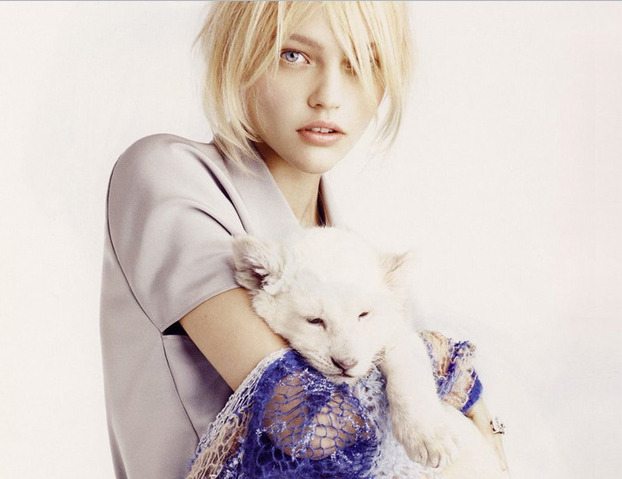 Sasha Pivovarova, 26 years old.