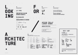Looking for Architecture visual identity