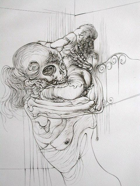 printmakersopenforum:   …had NO idea Hans Bellmer also made prints…LOVE LOVE!