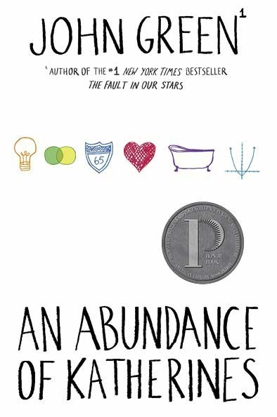 The winner of the An Abundance of Katherines cover contest has been announced at BEA, and this is it! Designed by nerdfighter Sarah Turbin. Congrats, Sarah! Here's a picture of Sarah, John, and the cover!