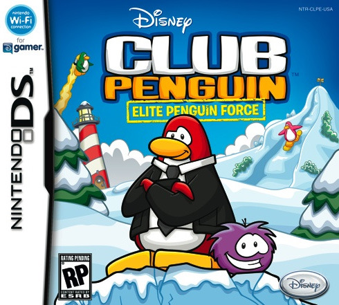 Disney Club Penguin Elite Penguin Force DS cover illustration! This was a fun one, and one of my first projects for Club Penguin.