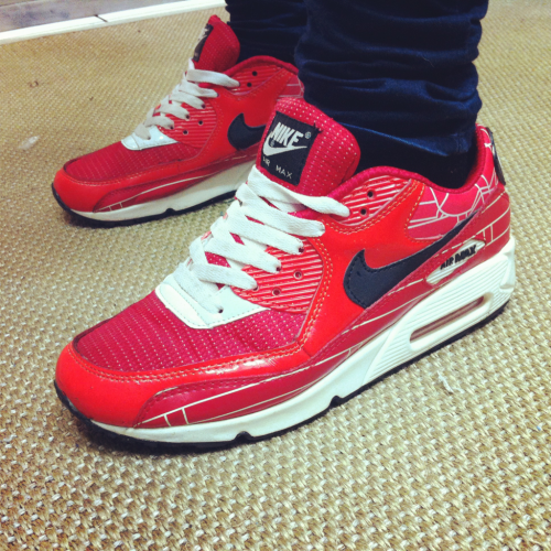 Nike Air Max 90 PR Red Fire Brick